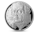 Czech 200 CZK  Aloys Klar Silver 2013 PROOF