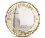 5 Euro Provincial buildings - Turku Cathedral