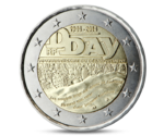 2 Euro D-DAY France 2014