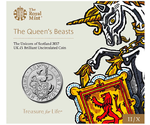 UK The Unicorn of Scotland 2017 BUNC