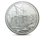 "France 10 Euro Ship  ""Le Pourquoi Pas ?"" Silver 2014 Proof"