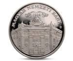 90th Anniversary of the National Bank of Hungary (Silver)