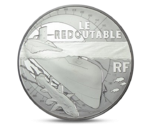 "France 10 Euro Ship  ""Le Redoutable"" Silver 2014 Proof"