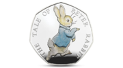 UK Peter Rabbit 2017 Silver PROOF
