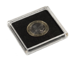 Square Coin Capsules QUADRUM 28 mm Pack of 10 Pcs