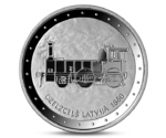 Latvia 1 Lats Railway in Latvia 2011 PROOF