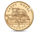 Laxey Wheel 5 Pounds UNC 2013
