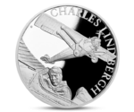 Niue 1 Dollar Century of flight - Charles Lindbergh Silver 2017