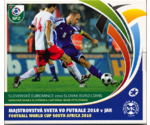 Slovakia Euro Set Football World Cup South Afriсa 2010