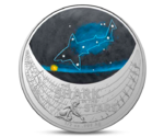 Australia 1$ Silver Shark in the Stars 2021