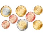 Estonia Euro Coins Set UNC 2011