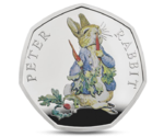 UK Peter Rabbit Silver 2018
