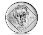 Czech 200 CZK Birth of Adolf Loos Silver 2020