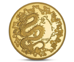 France 50 Euro Year of Dragon Gold 2012