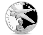 Niue 1 Dollar Century of Flight Amelia Earhart 2017 PROOF
