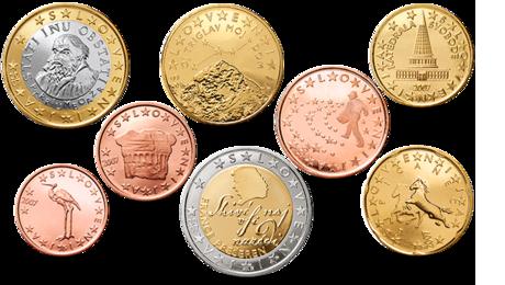 slovenia euro coins set unc 2007. Black Bedroom Furniture Sets. Home Design Ideas