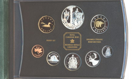 2002 CANADIAN GOLDEN JUBILEE PROOF DOUBLE DOLLAR SET