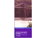 UK 1 Pound Menai Bridge Wales 2005 BUNC
