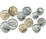 PRE-ORDER Fiji 6 Coin Set 5 Cent - 2 Dollars 2012 UNC