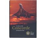 Alderney 5 Pounds Concorde in Blister BUNC 2008