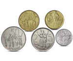 PRE-ORDER Ethiopia Currency 5 Coins Set MIX UNC